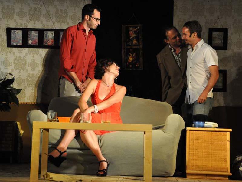 scena di recitazione teatrale