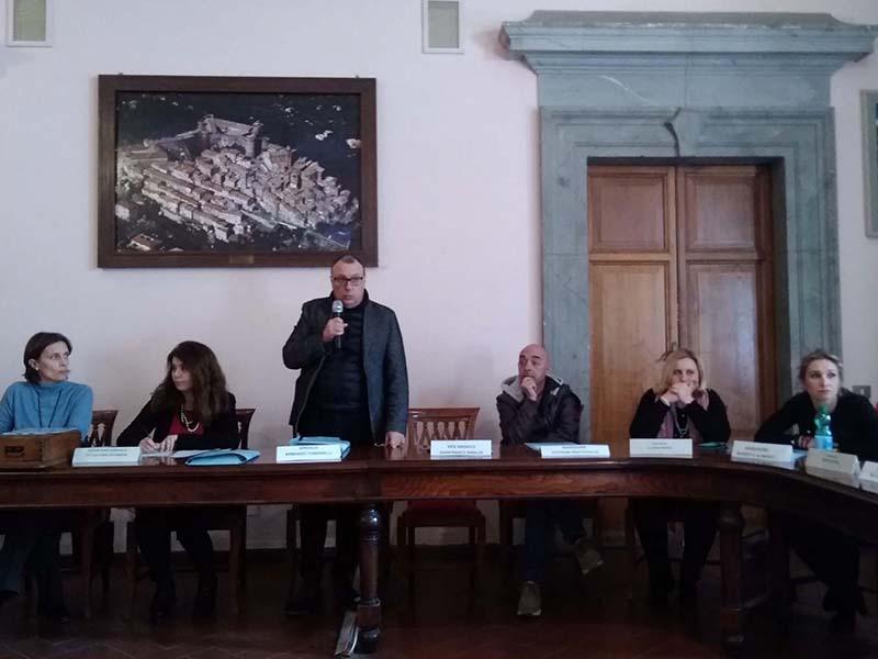 consiglio comunale di Bracciano con Tondinelli sindaco