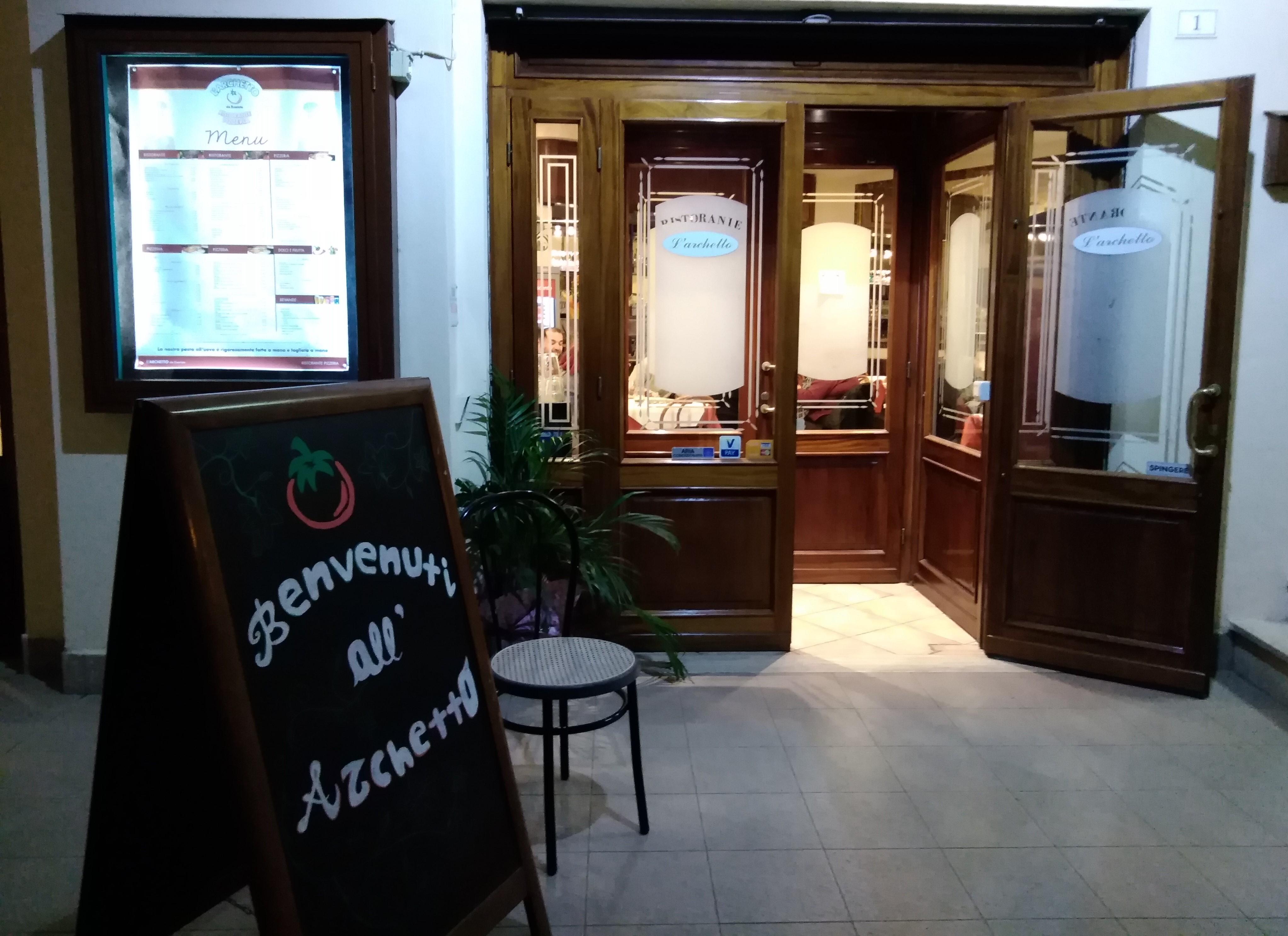 A Bracciano cucina di qualità al ristorante L'Archetto. Cortesia e professionalità al locale di Evaristo Scuderoni