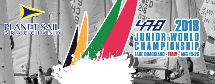 Al via sul lago di Bracciano il 470 Junior World Championship 2018. Regate dal 20 al 26 agosto. Oggi la cerimonia inaugurale