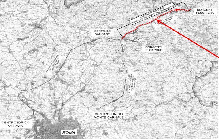 Emiliano Minnucci: raddoppio dell'acquedotto del Peschiera grazie a battaglia delle comunità del lago di Bracciano