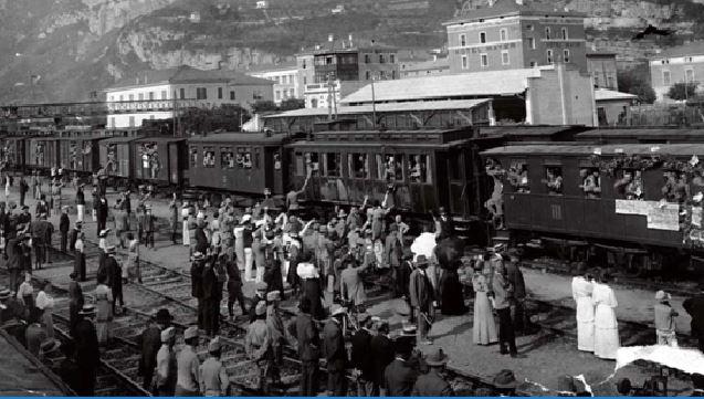"""""""Il ruolo delle ferrovie nella Prima Guerra Mondiale"""": presentazione del libro il 3 novembre in un convegno a Gallese"""