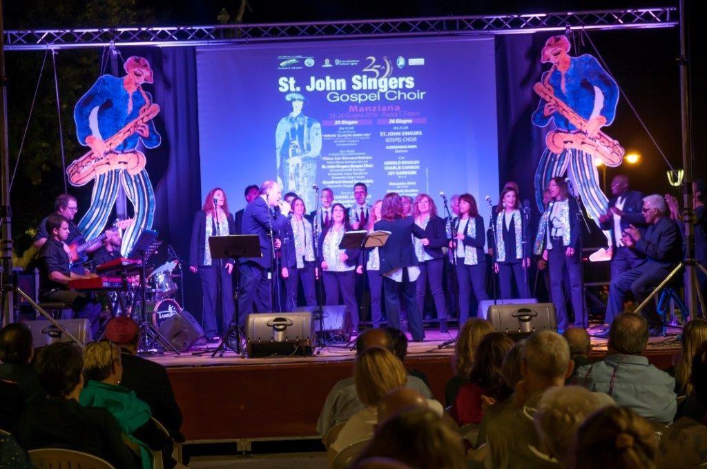 Il 23 dicembre i St John Singers ad Anguillara con un concerto alla chiesa Regina Pacis