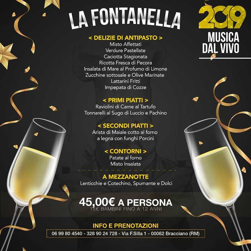 Capodanno low cost a Bracciano con La Fontanella: aspettando il 2019