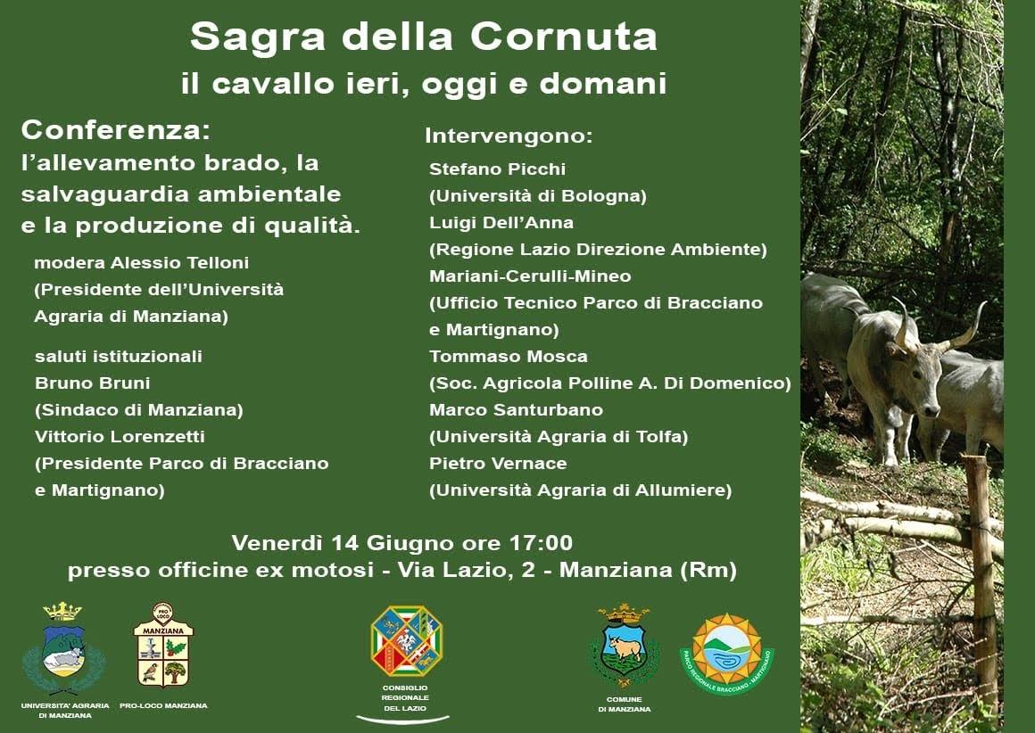 Conferenza L'allevamento brado, la salvaguardia ambientale e la produzione di qualità