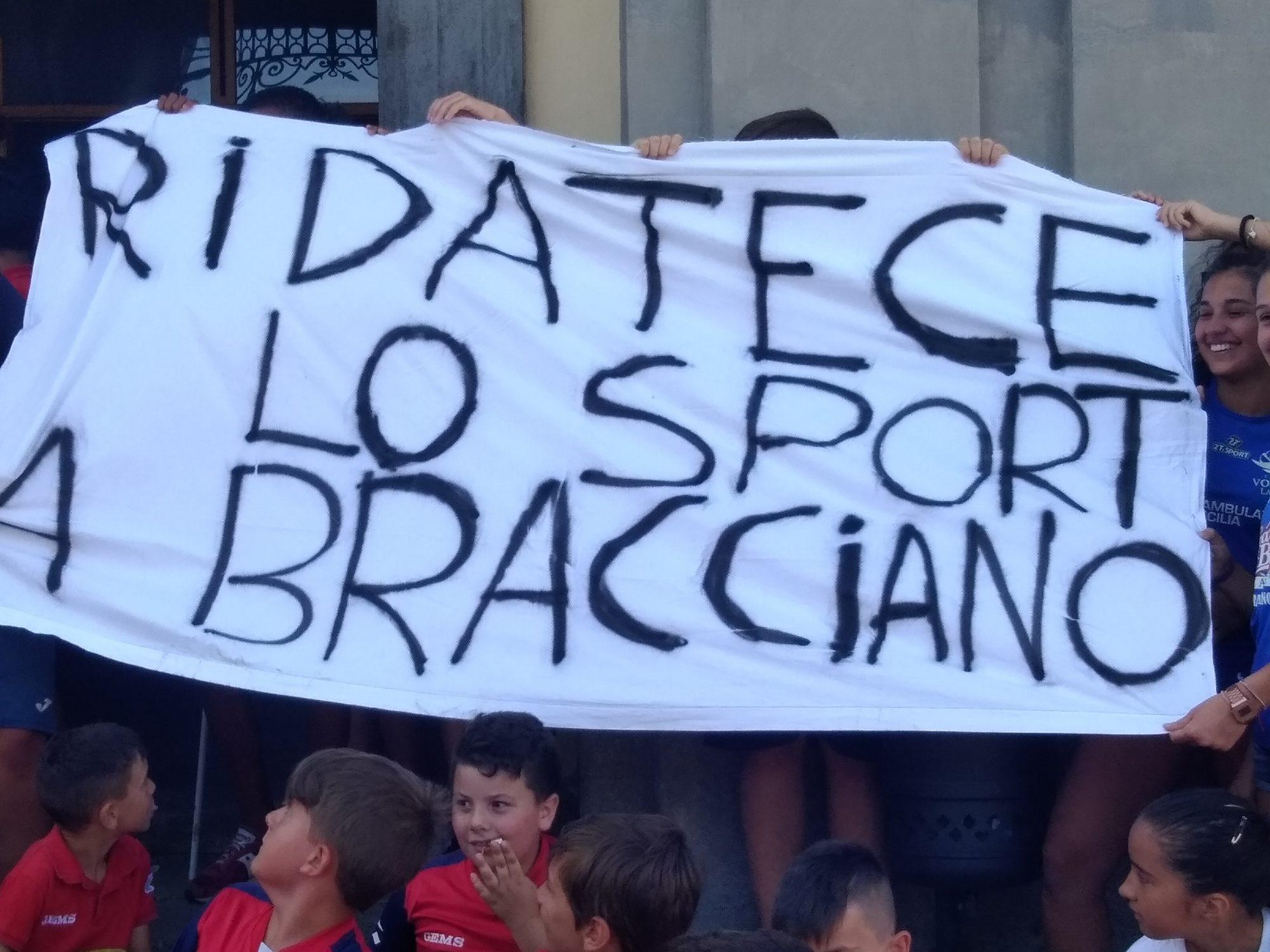 Bracciano in piazza per lo sport: bando da revocare