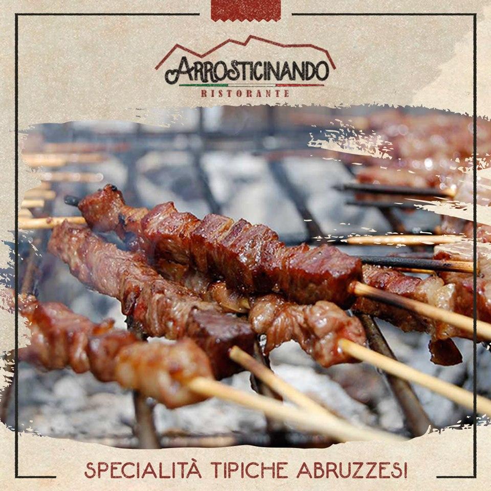 Anguillara Apre il nuovo ristorante Arrosticinando specialità tipiche abruzzesi