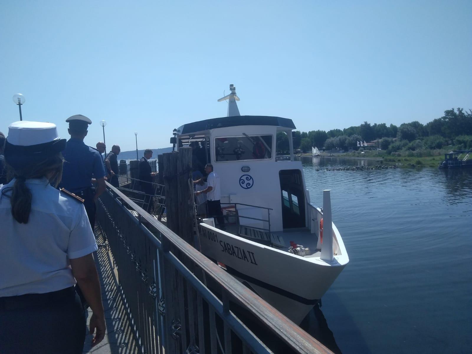 Lago: nuovo molo degli Inglesi a Bracciano. Le istituzioni oggi accorse all'inaugurazione