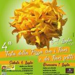 Anguillara: 6 e 7 luglio Rione San Francesco in festa con la Festa della Pizza con i Fiori e dei Fiori Fritti