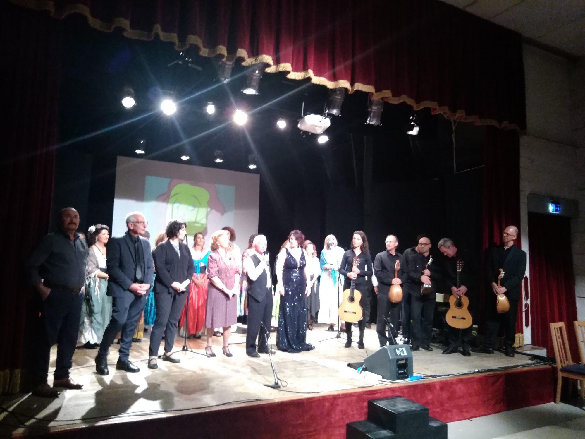 Titina De Filippo: grandi applausi per lo spettacolo ideato da Il Cantiere dell'Arte