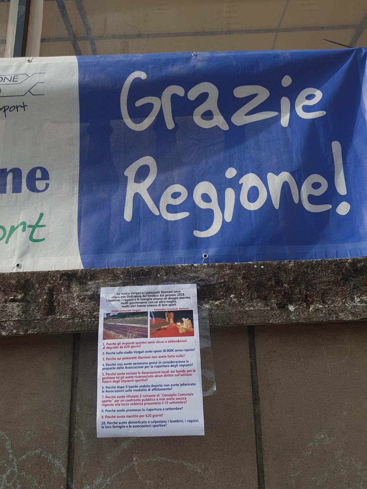 Donato Mauro plaude al Coni per sport in piazza. Ma a Bracciano…