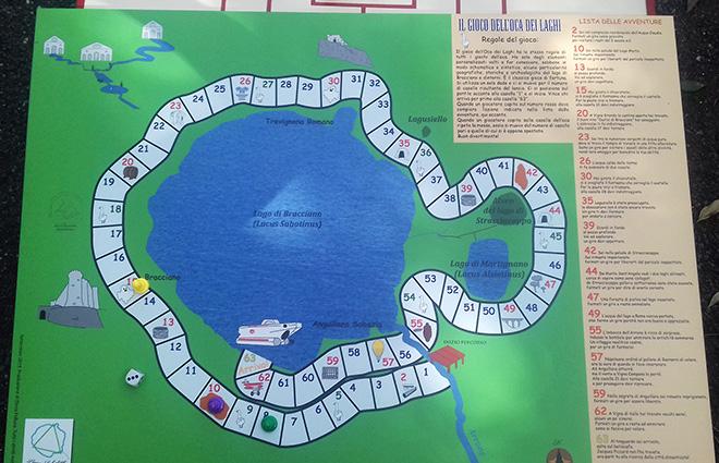 Il Gioco dell'Oca dei Laghi per scoprire il territorio divertendosi