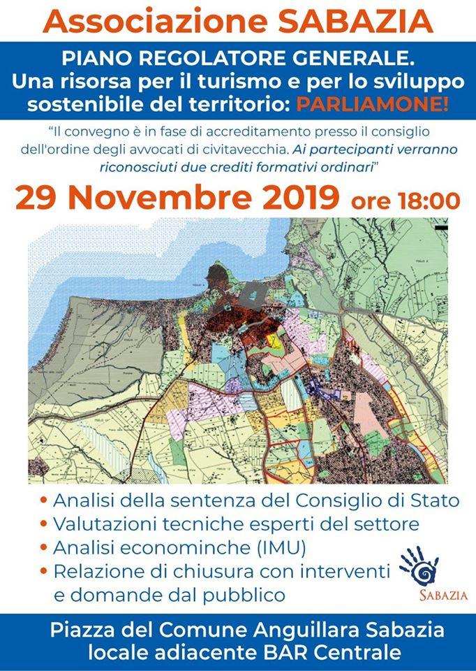 Piano Regolatore di Anguillara: oggi alle 18 incontro-dibattito
