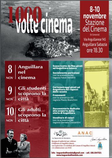 Anguillara: Mille volte Cinema dall'8 al 10 novembre