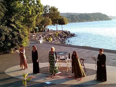 """Per """"Voci nell'Anfiteatro"""" il 1° agosto ad Anguillara in scena """"Donne legate da un filo rosso"""""""
